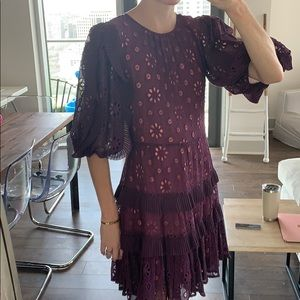 Rebecca Taylor embroidered dress